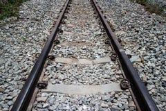 路轨方式 免版税图库摄影