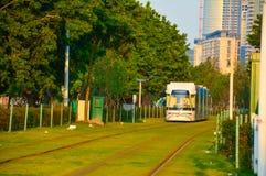 路轨运输和环境保护 免版税图库摄影