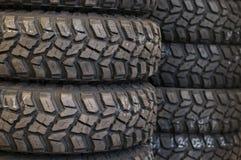 路轮胎 免版税库存图片