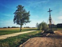 寺庙在波兰 库存图片