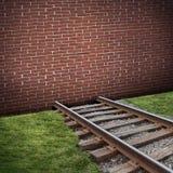 路障概念 免版税库存图片