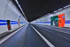 路隧道 免版税图库摄影