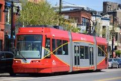 路面电车在华盛顿特区, 免版税图库摄影
