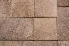 路面纹理铺路石石头块砖小径 图库摄影