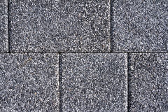 路面纹理铺路石石头块砖小径 免版税图库摄影