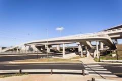 路高速公路连接点 图库摄影