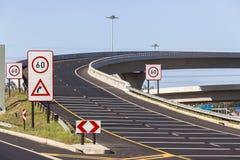 路高速公路连接点 免版税库存图片