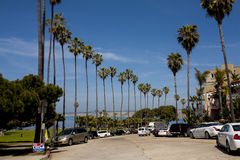 路,拉霍亚,加利福尼亚 免版税库存照片