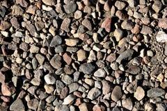 路,步行道由不同的形状做成石头  免版税库存图片