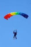 跳伞运动员 免版税图库摄影