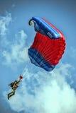跳伞运动员 免版税库存图片