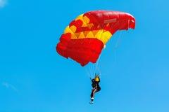 跳伞运动员 免版税库存照片