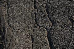 跳动灰色沥青,镇压,自由空间纹理  灰色沥青 免版税图库摄影