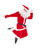 跳圣诞老人的克劳斯 库存图片