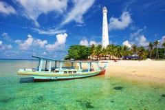 跳岛战术在印度尼西亚 免版税库存图片
