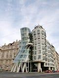 跳舞之家在布拉格的中心 库存照片