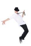 跳舞人年轻人 免版税库存照片