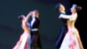 跳舞人的Defocused图象 库存照片