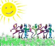 跳舞人 免版税库存图片
