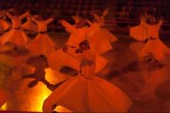 跳舞伊斯兰教苦行僧在科尼亚 图库摄影