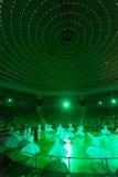 跳舞伊斯兰教苦行僧在科尼亚 免版税库存照片