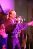 跳舞和声音吉普赛带Yar Priozersk表现  免版税库存图片