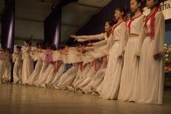 跳舞在Cantonigrà ² s 免版税库存图片