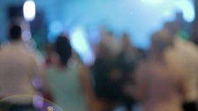 跳舞夫妇在党或婚礼庆祝时 影视素材