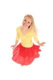 跳舞妇女 免版税库存图片