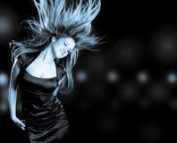 跳舞妇女 图库摄影