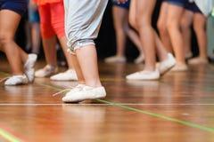 跳舞孩子 免版税库存照片