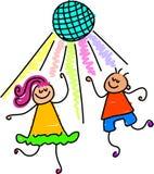 跳舞孩子 库存图片