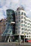 跳舞房子布拉格 免版税库存照片