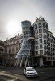 跳舞房子布拉格 免版税库存图片