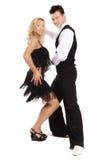 跳舞拉丁 免版税库存照片