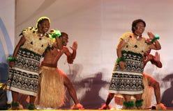 跳舞斐济音乐 免版税库存照片