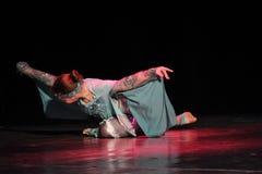 跳舞比赛在克列缅丘格,乌克兰 免版税库存照片