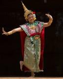 跳舞泰国传统 免版税库存图片