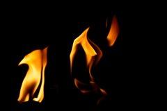 跳舞火焰 图库摄影