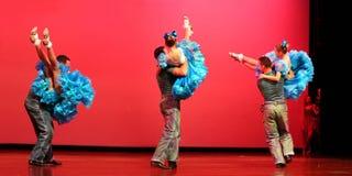 跳舞现代 免版税库存照片