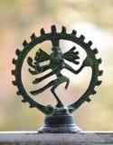 跳舞的希瓦的小雕象 库存图片
