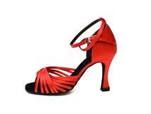 跳舞的红色鞋子 免版税库存照片