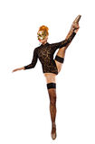 跳舞的赤裸妇女 库存图片