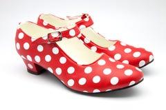跳舞的鞋子 免版税图库摄影