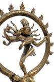 跳舞神印度印第安nataraja shiva雕象 免版税库存图片