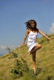 跳舞秀丽本质上 免版税图库摄影