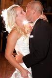 跳舞第一个婚礼 免版税图库摄影