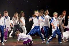 跳舞组的belka子项未认出 库存照片