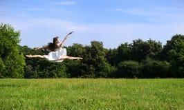 跳舞芭蕾舞女演员 库存照片