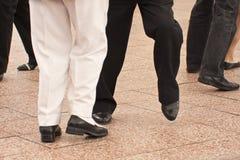 跳舞英尺 免版税库存图片